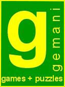 Gemani Games and Puzzles logo